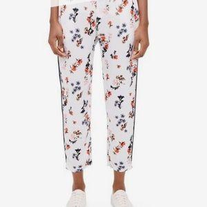 Club Monaco White/Floral Tavin pants